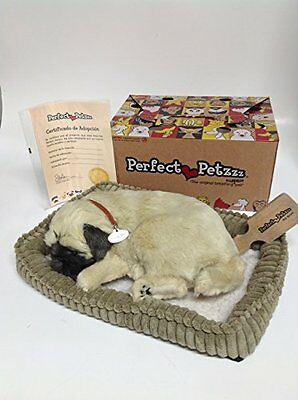 Perfect Petzzz Xp91-09 Huggable Pug Puppy Looks Just Like A Pug! Great For Seni
