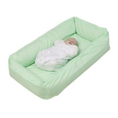 Tetra Original Snuggle Bed with Cover - No need for a Bassinet or Cradle - Mint