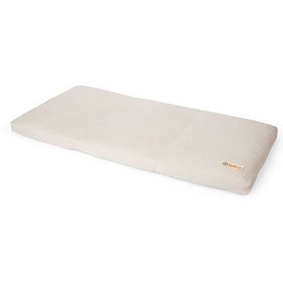Tetra Organic Firm Cradle Mattress for Boori Rocker - 48cm x 92cm - Cream