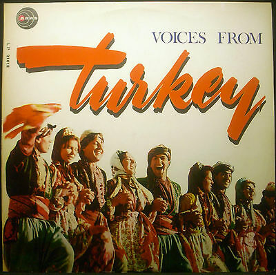 LP TÜRKIYE DEN SESLER - voices from turkey