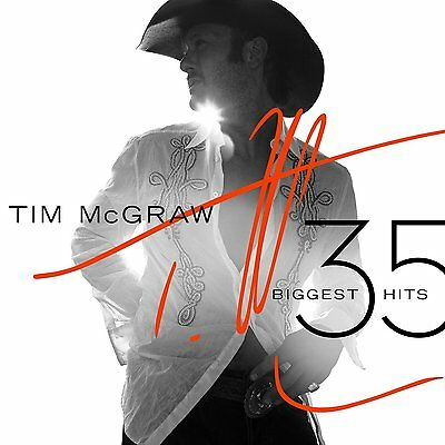 Tim Mcgraw Cd - 35 Biggest Hits [2 Discs](2015) - New Unopened - Country