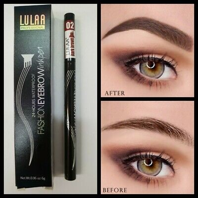 Eyebrow Brush Eyeliner Eyeshadow Brow Powder Mascara Blending MAKEUP BRUSH UK