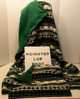 Weighted Sensory Blanket Made in Canada, 40 x 60, 17lb