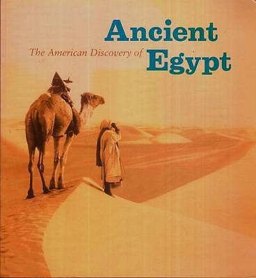 Art Book The American Discovery Of Ancient Egypt Nancy Thomas