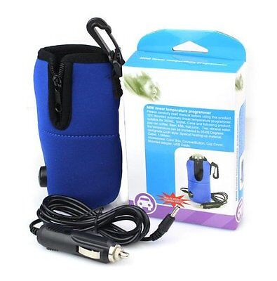 Portable Travel Car Milk Water Bottle Warmer Heater Pouch for Baby Feeding