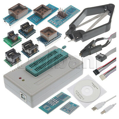 8 Programmer Adapter Socket Kit with IC Extractor for TL866CS TL866A