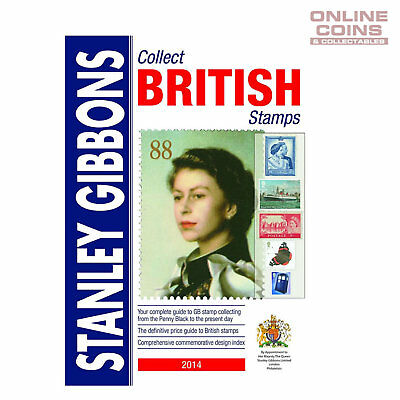 Stanley Gibbons Collect British Stamps Catalogue 2014 65th Edition - NEW STOCK
