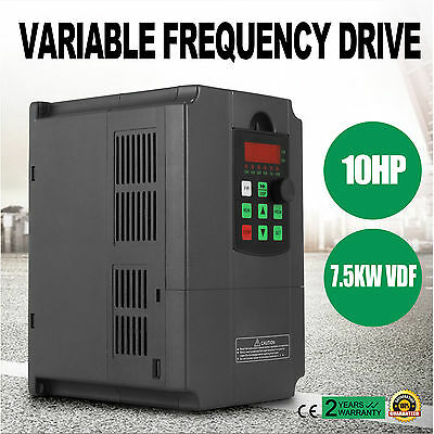 7.5Kw 10Hp 220V 34A Single/three Phase Variable Frequency Drive Inverter Vfd