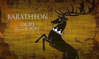 Game of Throne Trono di Spade Play Mat Tappetino - Baratheon