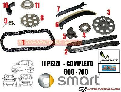 Kit Distribuzione A Catena Smart 600 700 Benzina Completo - 2 Catene