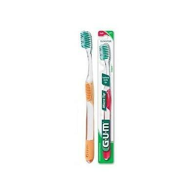 6 Pack - Gum Toothbrush #471 Micro Tip Soft