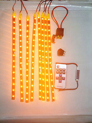 BOAT New Wireless Yellow LED Accent Lights Kit Waterproof Bright Strips