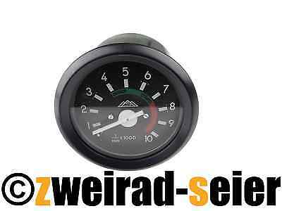 Tachometer Ø 2 3/8in with Ground Connector 12V Simson S50 S51 S53 S70