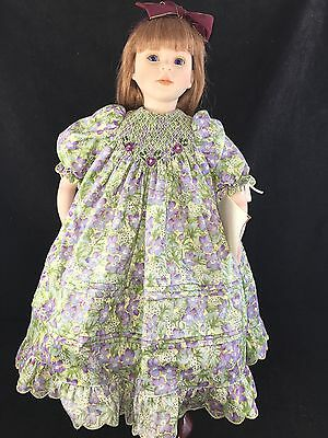 Dolls By Pauline Pauline's Doll Limited Edition Signed 229/950 Laura Bjonness