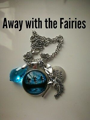 Code 419 Away with the Fairy Crystal Infused Necklace Children Present Christmas