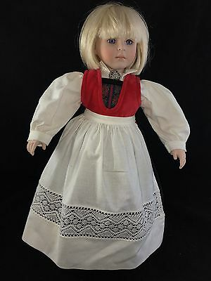 Dolls By Pauline Pauline's Doll Limited Edition Signed 219/1800 Lisabeth