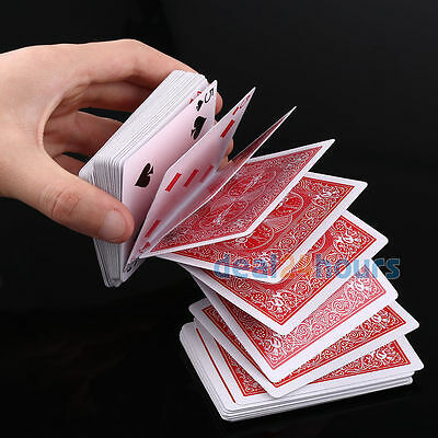 Magic Deck of Cards Magician Prank Trick Prop Gag Red Back