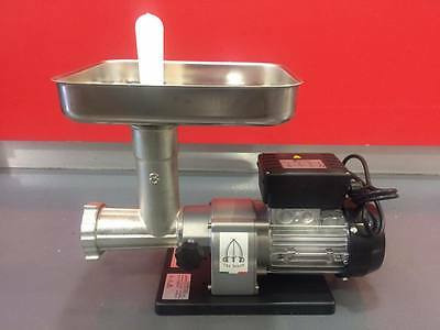 Tre Spade Italian Mincer No.8 20kg/hr with 6mm Cutting Plate Commercial MNS0008