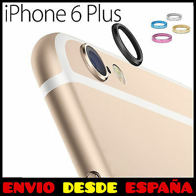 "Protector Aro De Metal Para La Camara Del Iphone 6 6S Plus (5,5"") Funda Anillo"