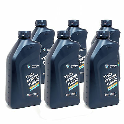 6 Litri Olio Motore Originale BMW Twin Power Turbo 0W30 Acea C3 BMW Longlife-04