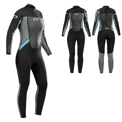 Osprey Womens Winter Wetsuit 5mm Surf Steamer Full Length Ladies Neoprene Suit