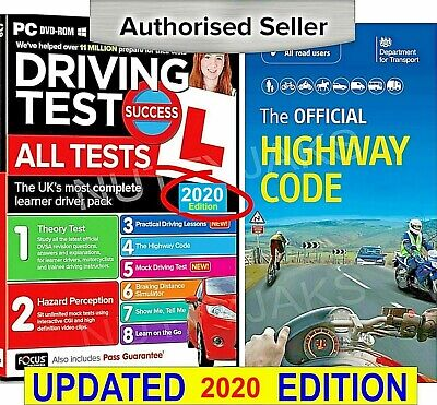2017/2018 Driving Theory Test & Hazard + Highway Code Book. Latest Edition.,