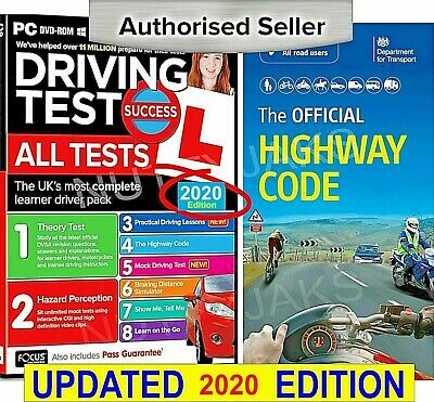 2017 Driving Theory Test & Hazard + Highway Code Book. Latest Edition.,