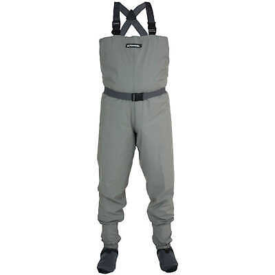 Compass 360 Stillwater Breathable Stockingfoot Chest Waders, Medium