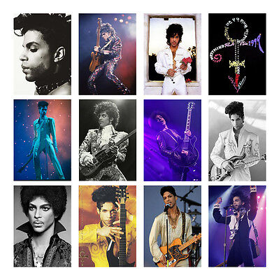PRINCE PURPLE RAIN MOVIE POSTER Bike Cloud Guitar Photo Print Pic Poster A3 A4