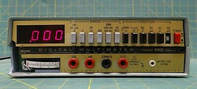 Simpson Digital Multimeter 460D 460 Series 4 NSN 6625-00-490-8391