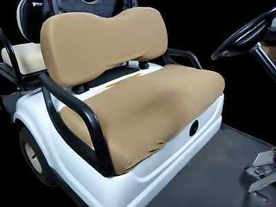 Golf Cart Seat Slip-on Seat Cover Tan -  Made in USA