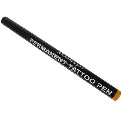Tattoo Skin Marking Marker Pen Stargazer Semi Permanent Body Art 11 Orange