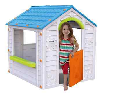 Kids Outdoor Play House Garden Toys Indoor Childrens Playhouse Free Shipping New
