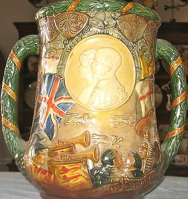 Royal Doulton Loving Cup – King George V and Queen Mary 1910-1935  (No. 563)