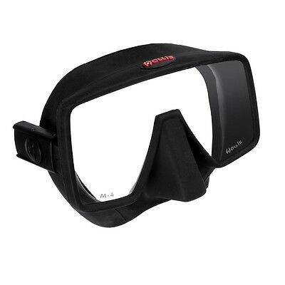 Maschera Tech Diving Hollis M4 Frameless Nera Da Landisport