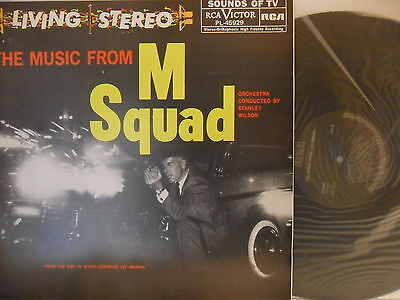 Stanley Wilson - The Music From M Squad - LP 1984 ES - RCA PL-45929