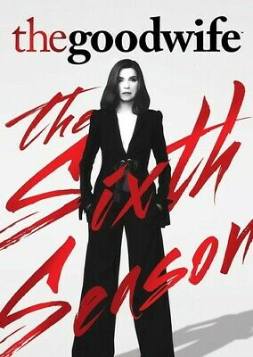 Good Wife: The Sixth Season - 6 DISC SET (2015, DVD NEW)