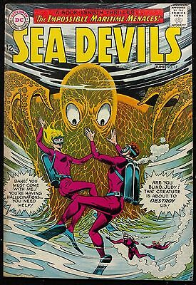 Sea Devils 1964 #17 Vg Looks Better  Maritime Monsters And Aliens Nice Book
