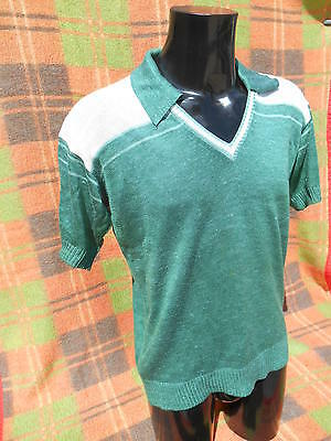 CREATIONS TAMAGRA Polo Made in France True Vintage 70s Old School Sports Casual