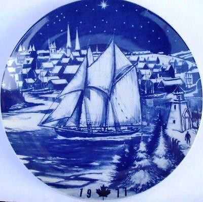 """Collector Plate """"""""The Bluenose"""" 1977"""