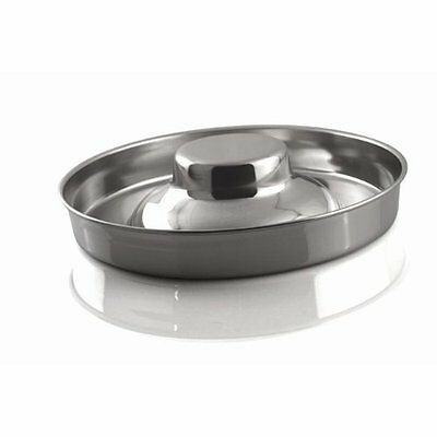 Bergan 8 Cup Stainless Steel Puppy Saucer