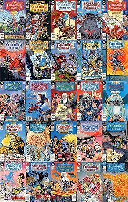 DC Comics TSR Forgotten Realms Comic Select an Issue 1 to 25 & Annual