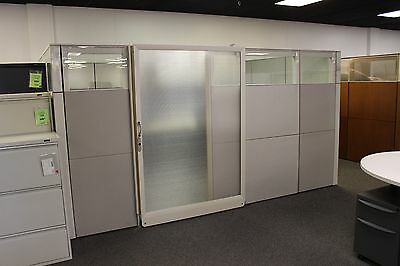 Ethospace 11X8 Office Suite Cubicle with door