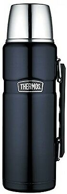 Thermos Stainless King Flask - 1.2 L, Midnight Blue