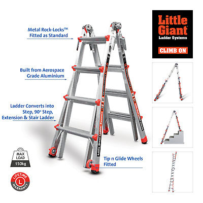 Little Giant Revolution - Multi-purpose Combination Ladder from the USA