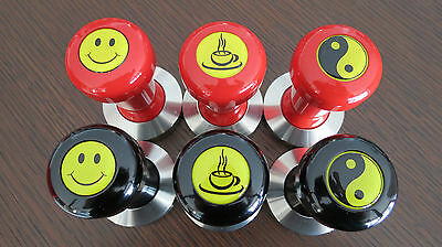 COFFEE TAMPERS, 53mm, 51mm..BARISTA QUALITY..HEAVY.. COFFEE MACHINE. 50% OFF..