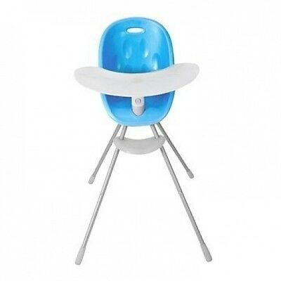 Phil&Teds Poppy High Chair - Bubblegum Blue - New! Free Shipping!