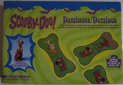 Scooby Doo Dominoes Game Bilingual Instructions complete