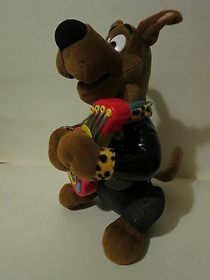 Scooby Doo with Guitar Rock N Roll Plush Electronic Toy Musical Talking