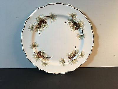WS George GEO23 Lido Pine Cone Bread And Butter Plate